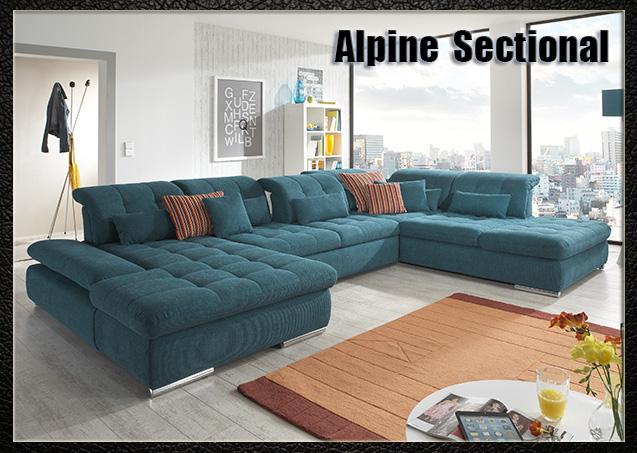 Alpine U-shape Sectional | Nordholtz