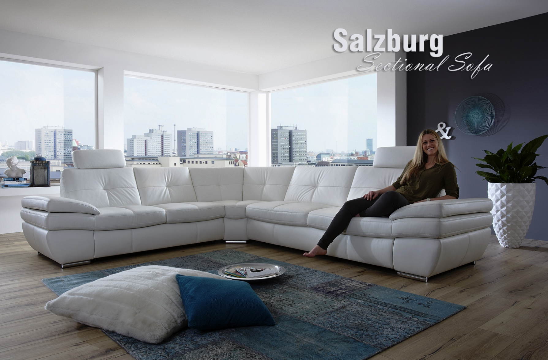 Salzburg Sectional Sofa Design and Functionality