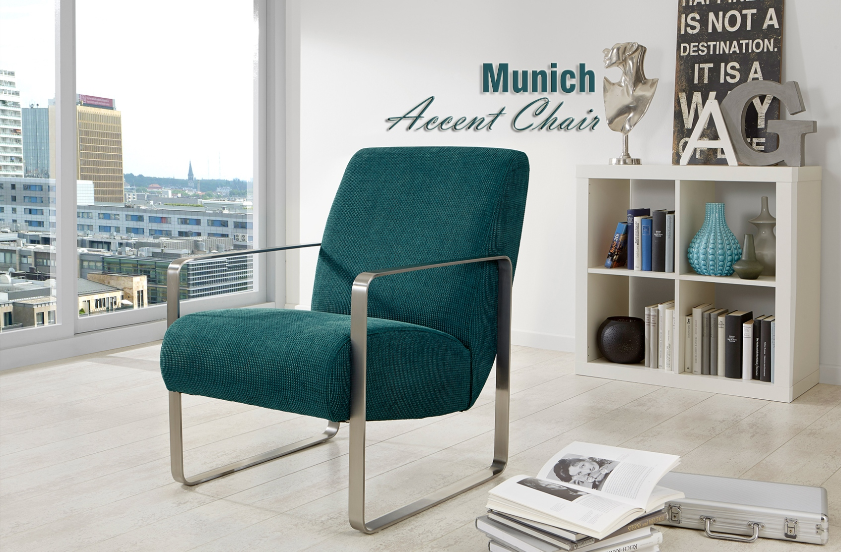 munich accent chair timeless design by nordholtz furniture. Black Bedroom Furniture Sets. Home Design Ideas
