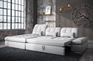 Alpine Sectional Sofa Bed and Storage - photo №9