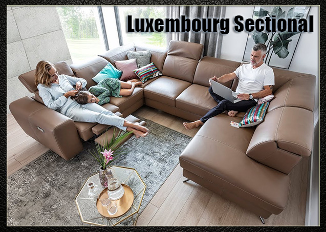 Luxembourg SEctional | Nordholtz