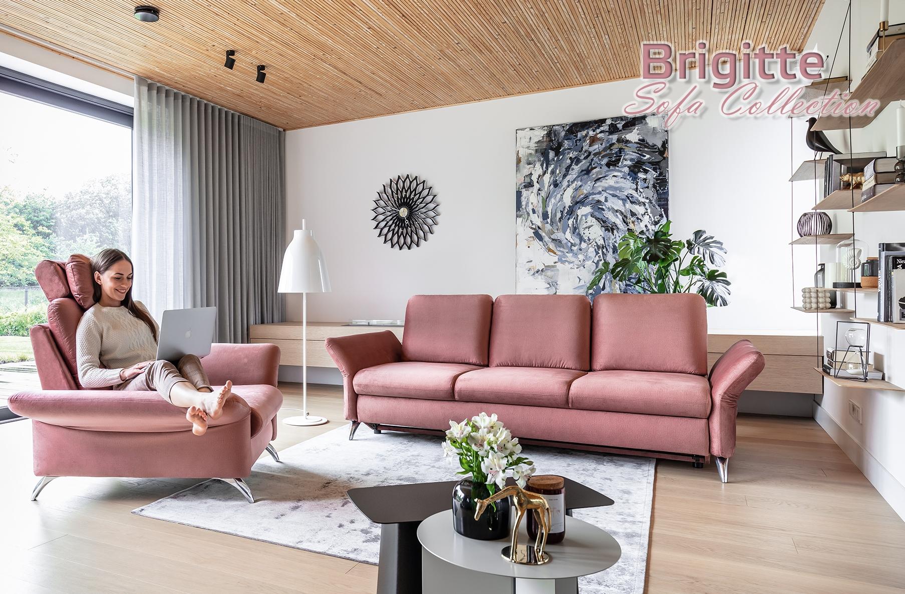 Brigitte Sectional Sofa, Cheap