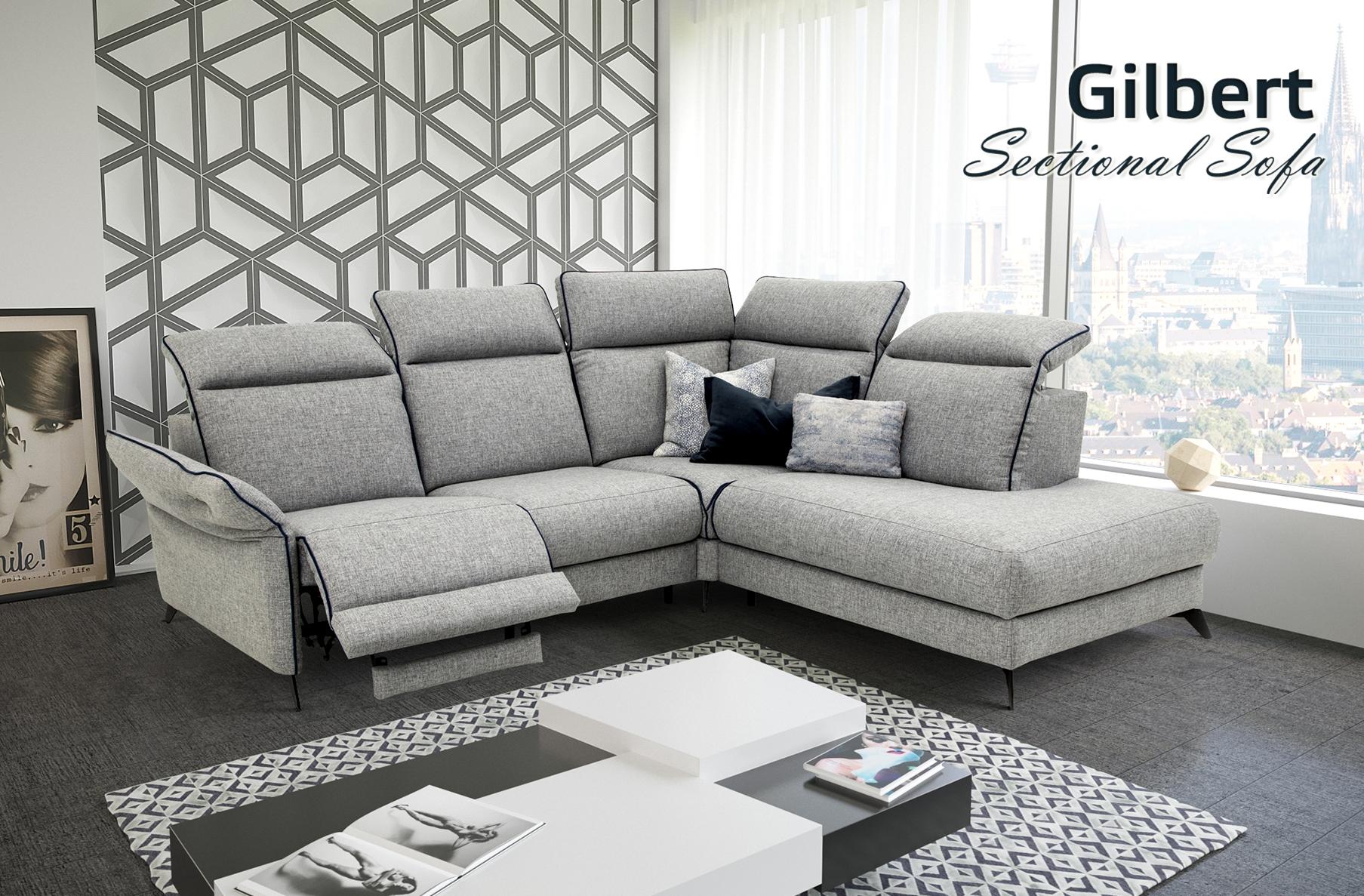 Gilbert Sectional Sofa, Cheap