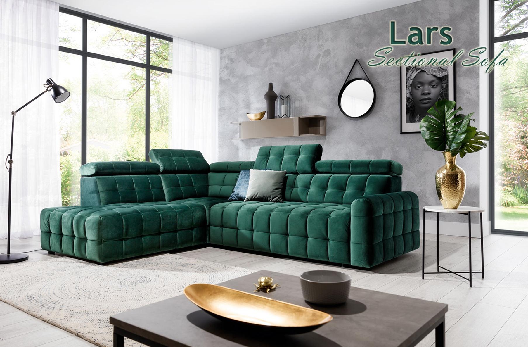 Lars Sectional Sofa, Cheap