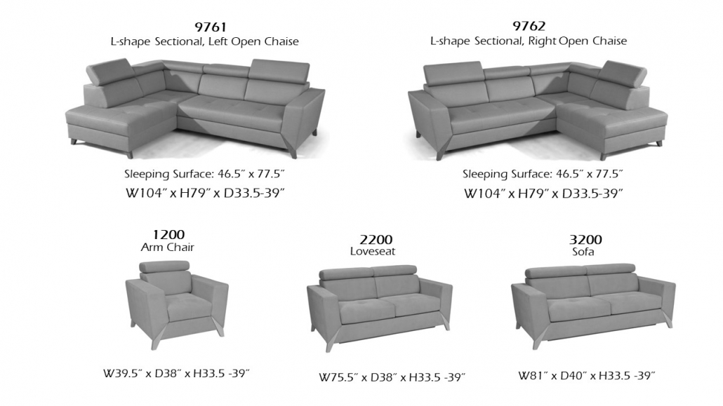 Hamburg Functional Sectional, Online Store