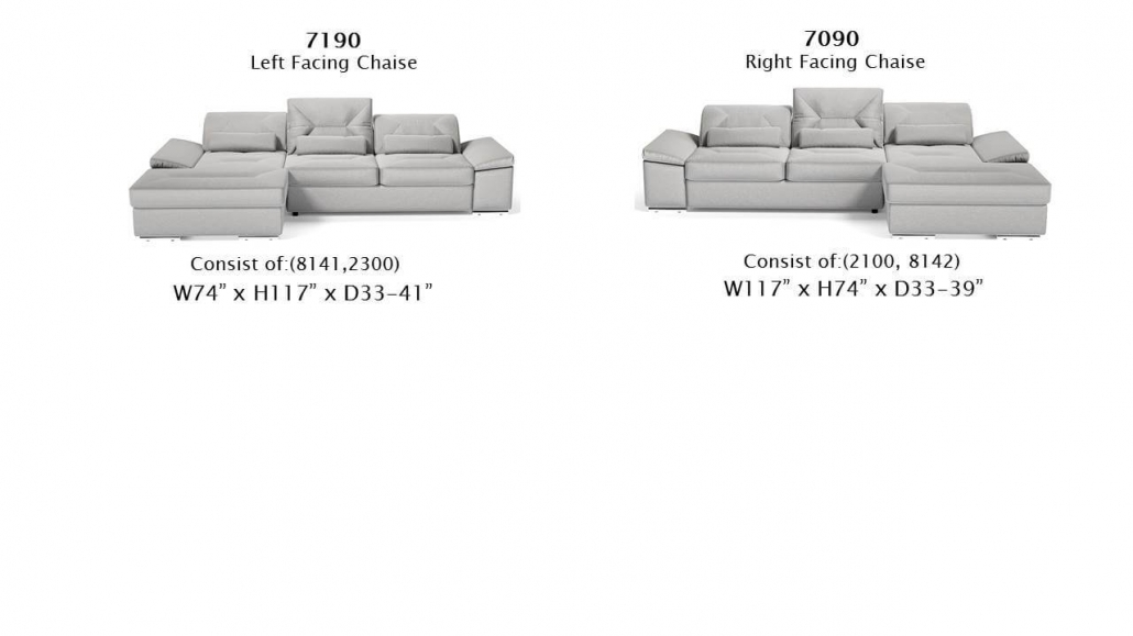 Alpine-X-7190 and 7090 configurations