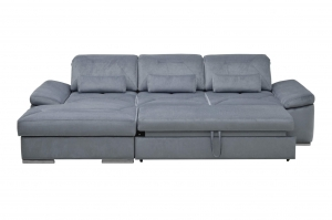 Alpine-X sectional with sleeper front view | Nordholtz