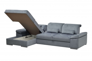 Alpine-X sectional with open storage | Nordholtz
