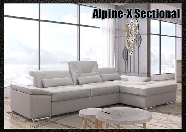 Alpine-X Sectional | Nordholtz
