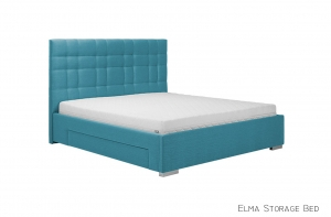 Elma Upholstered Storage Bed - photo №6