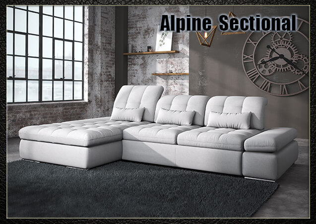Alpine Fabric Sectional