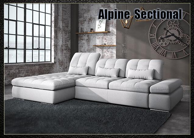 Alpine Fabric Sectional