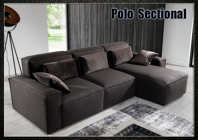 Polo Sectional Sofa | Nordholtz