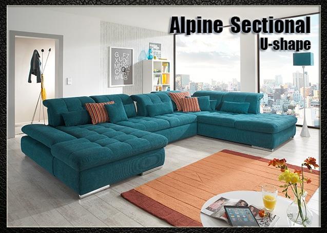 Alpine Sectional U-shape | Nordholtz