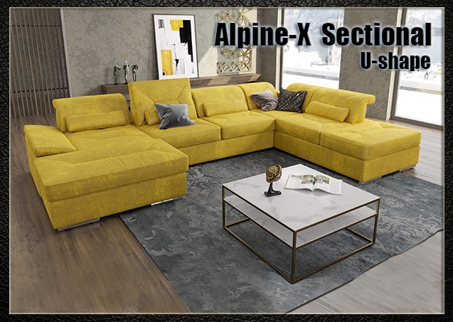 Alpine-X sectional U-shape | Nordholtz