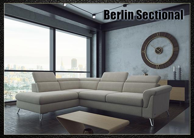 Berlin Sectional Sofa | Nordholtz