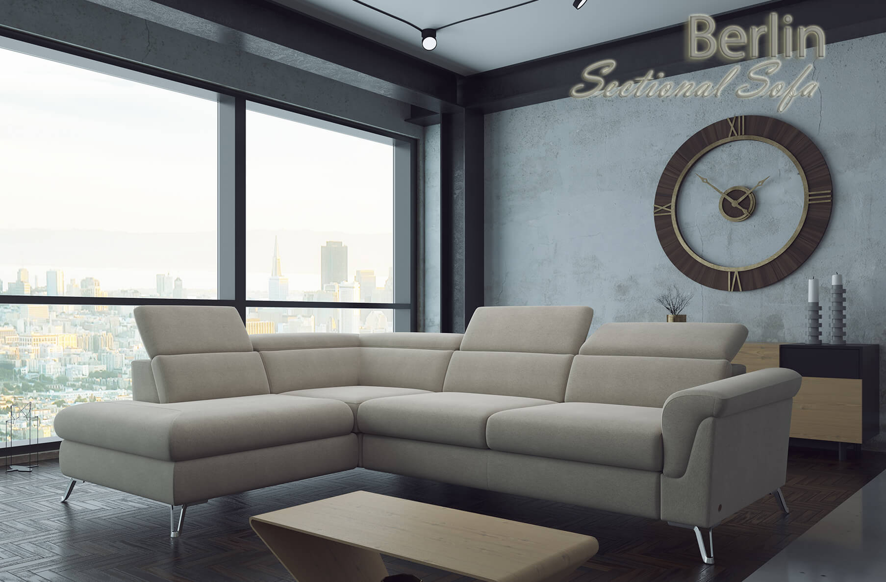 Berlin Sectional Sofa | Nordholtz