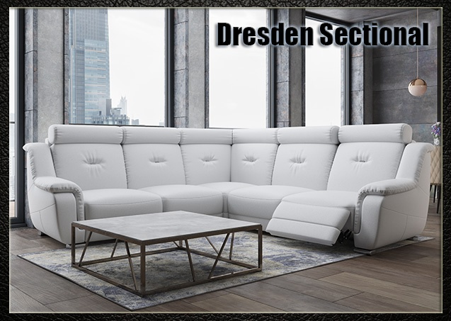 Dresden Sectional Sofa | Nordholtz