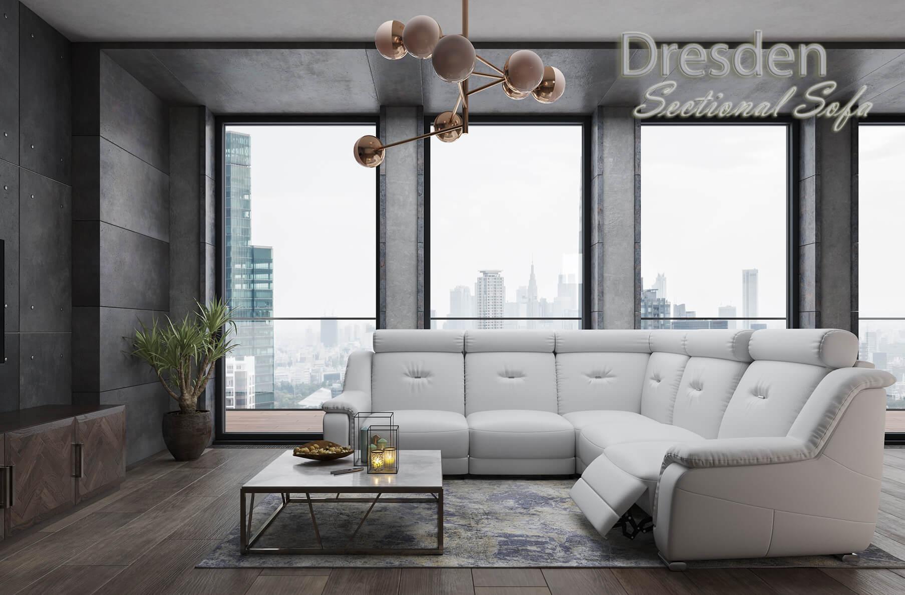 Dresden Sectional Sofa, Cheap