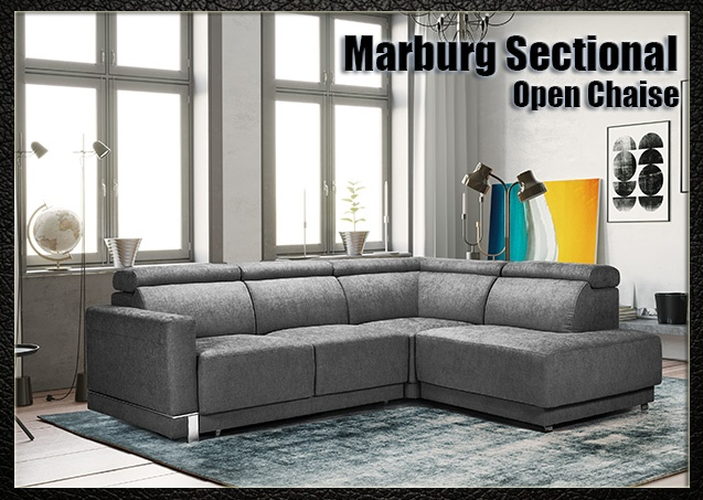 Marburg Sectional Open Chaise | Nordholtz
