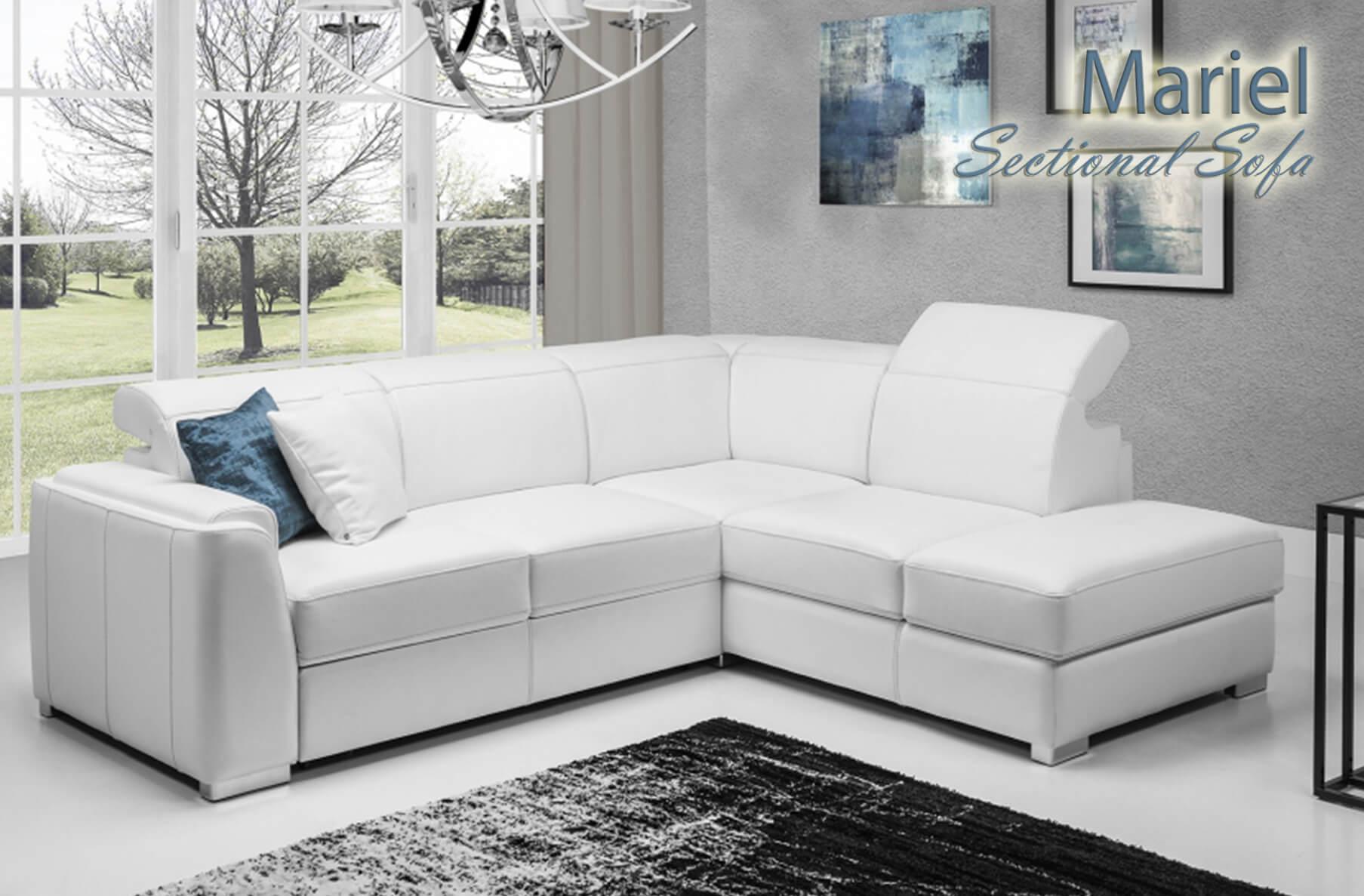 Mariel Sectional Sofa, Cheap