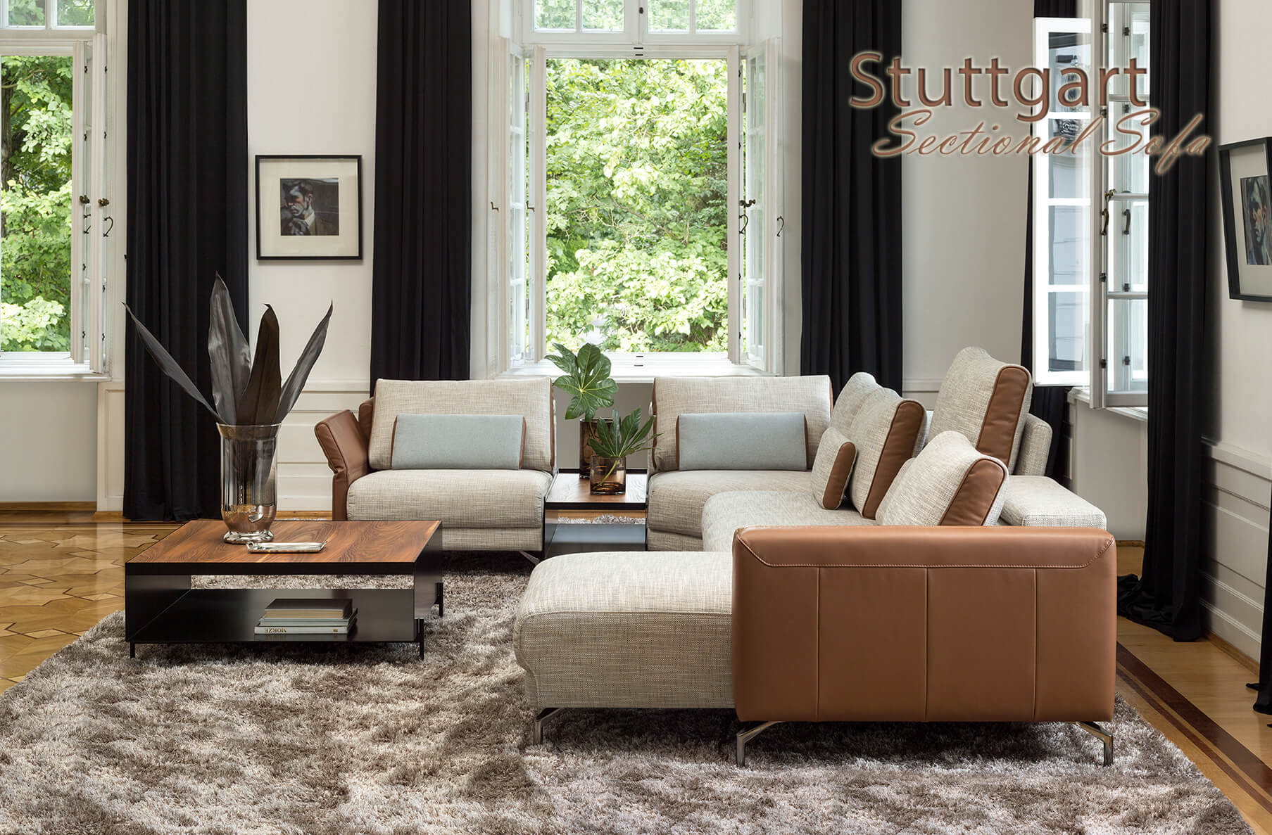 Stuttgart Sectional Sofa, Cheap