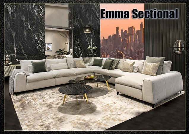 Wholesale Modern Affordable Sectional Sofas - photo №27