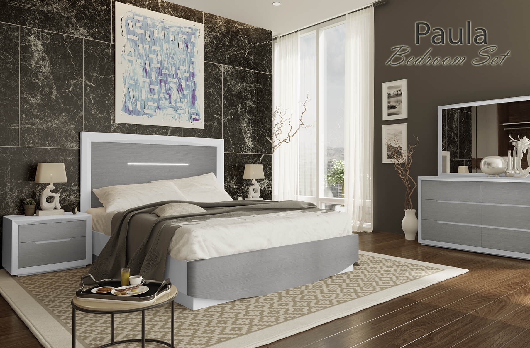 Paula Bedroom Collection, Cheap